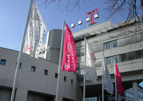 Bild der deutschen Telekom - in unserem Aktienfonds