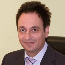 Herr Franke im Team des Aktienclub NDAC