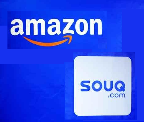 Logo von Amazon uns souq.com