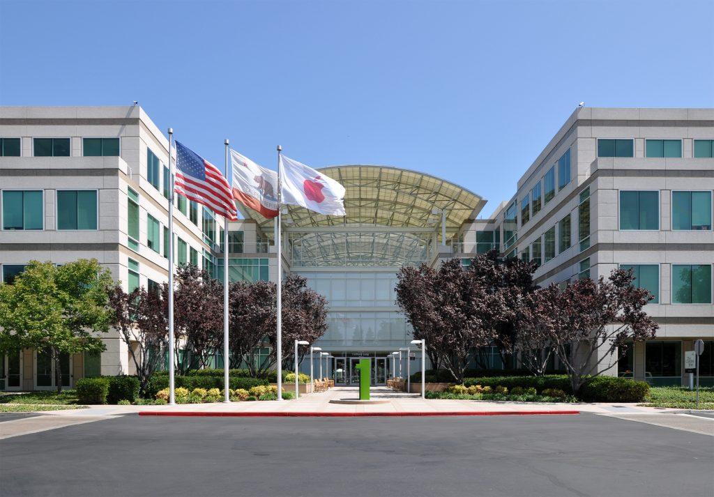 Bild des Hauptsitzes von Apple