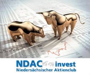 Logo des Aktienfonds mit Depotwerten