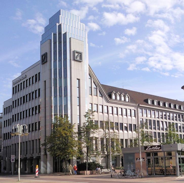 Die Deutsche bank macht sich wieder