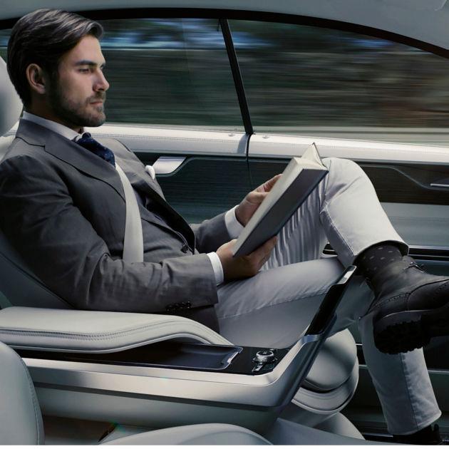 Bequemes Fahren im autonomen Auto
