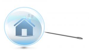 Bild einer Immobilienblase