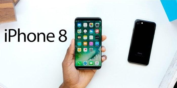 Bild eines IPhone 8 Modell von Apple